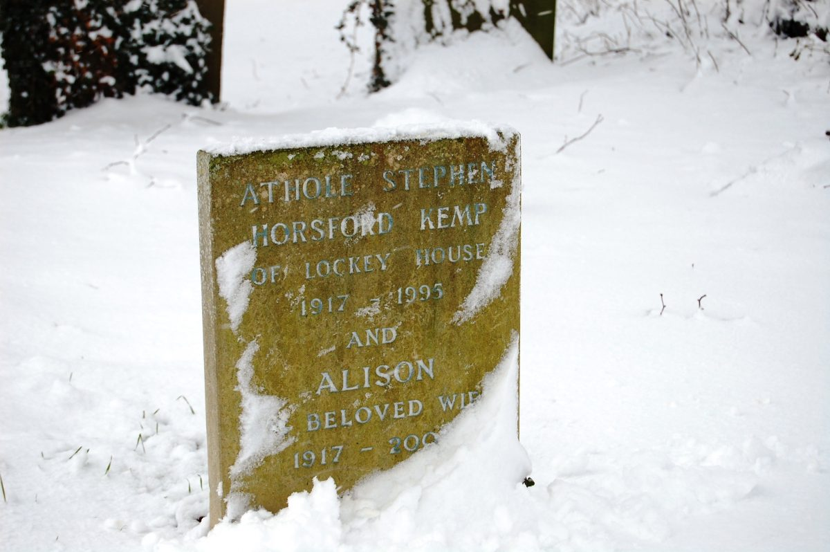 gravestone in the snow - Talking about Death and Dying